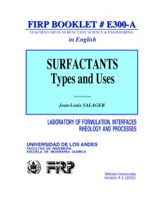 E300A Surfactants – Types and uses