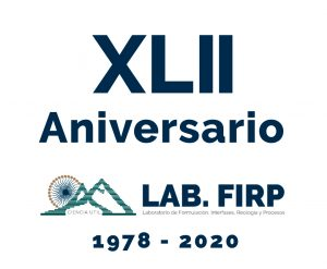 XLII Anniversary of the FIRP Laboratory- September 2020